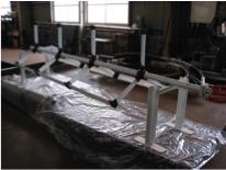 吊り下げ式垂直軸型潮流タービン模型ブレード