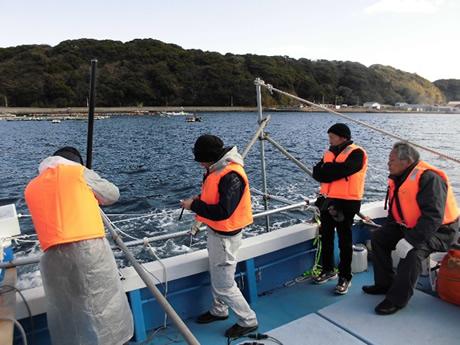 浮体式小型潮流発電の実証研究プロジェクト2