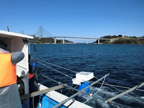 浮体式小型潮流発電の実証研究プロジェクト3